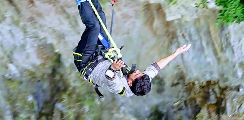 Bungy at Bhotekoshi river
