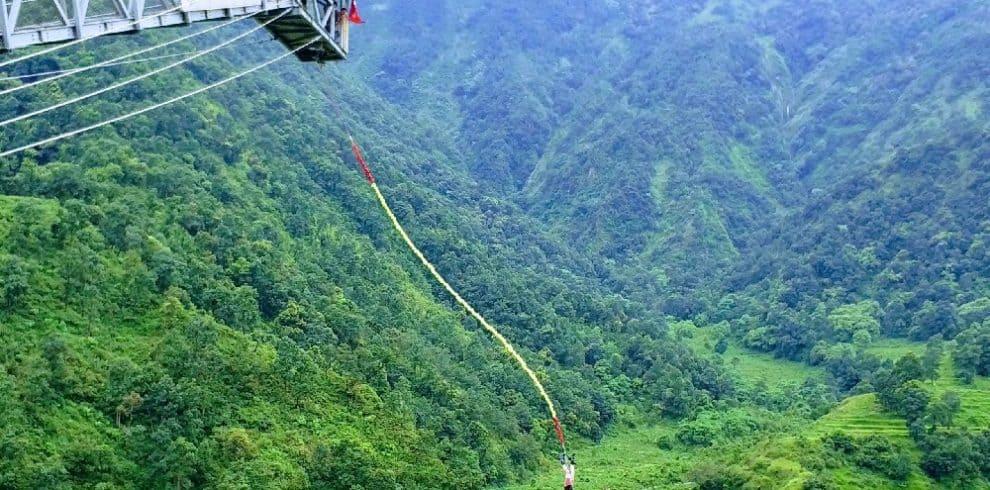 Pokhara bungy jumping
