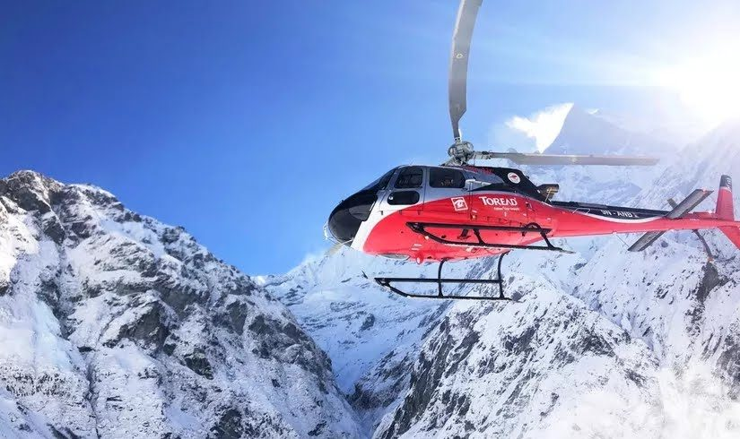 Five best helicopter tours in Nepal